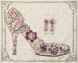 Shoe and Earrings